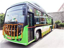 The 40-strong e-bus fleet will enable savings of Rs 5.81 crore in diesel and also reduce carbon emissions of around 1,700 tonnes per annum.