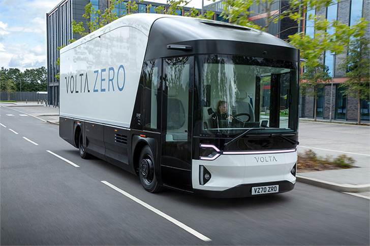 The Volta Zero will start undertaking operator trials with some of Europe's largest parcel delivery and logistics companies in H1-2021.