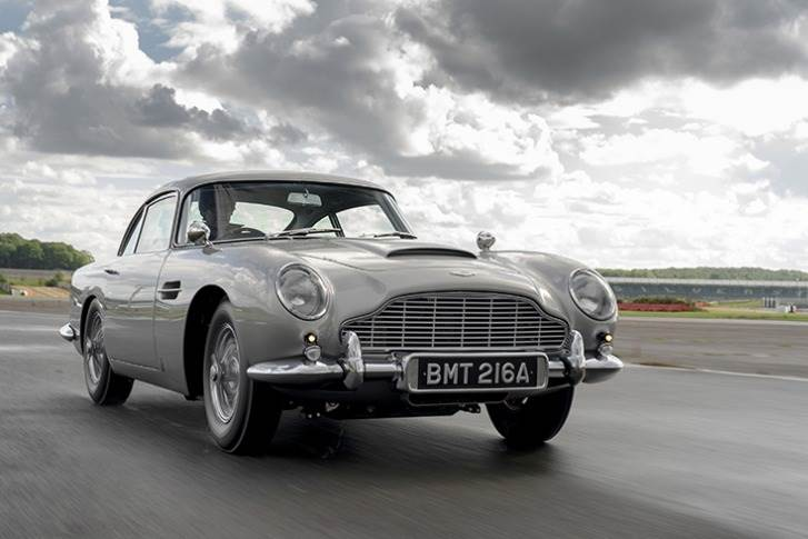 The first DB5 Aston Martin to be built in more than 50 years, the DB5 Goldfinger Continuation has been created in association with Bond filmmaker EON Productions.