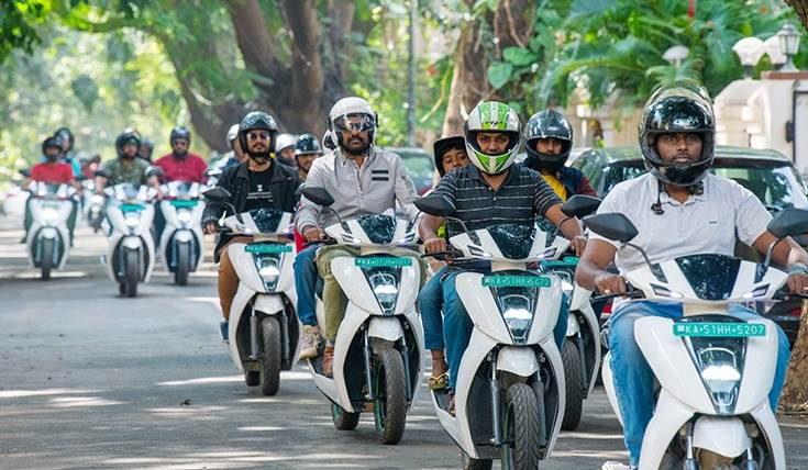 In FY2020, Ather scooters reduced 7.5 metric tons of CO2 emissions (equivalent to 15 years of riding a 125cc scooter). Till date, Ather scooters have travelled 40 million green kilometres and saved 30 metric tonnes of CO2.