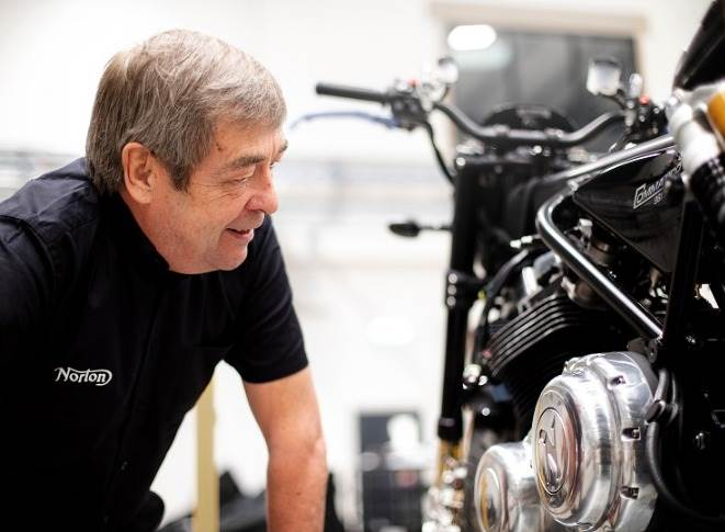John Russell will step down from his role as Interim CEO, Norton Motorcycle.