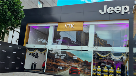Jeep targets South India for speedy sales, opens sixth showroom in Tamil Nadu