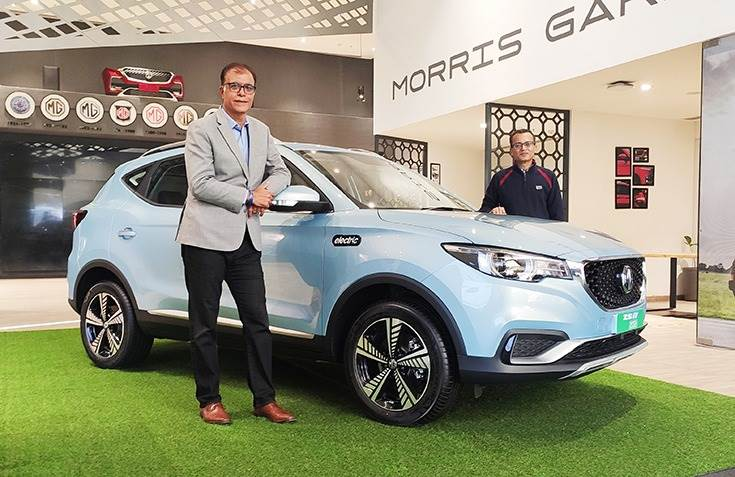 """Rajeev Chaba, President and Managing Director, MG Motor India: """"To extend our customers a superior ownership experience, we are building a robust charging infrastructure in India along with our ecosystem partners."""""""