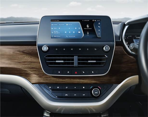 Range-topping Harrier XZ gets 8.8-inch touchscreen infotainment system with Apple CarPlay and Android Auto.