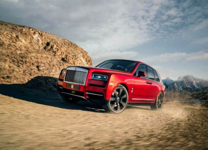 The new Cullinan SUV saw the largest advance order book and fastest post-launch sales growth of any Rolls-Royce model in history.