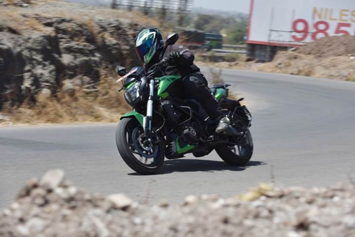 Recent price hikes have brought the price of the Dominar 400 up to Rs 190,000.