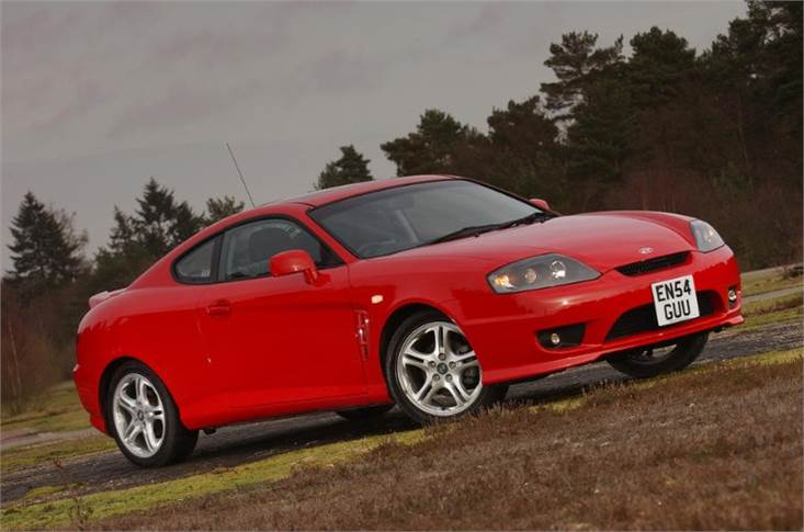 ...and takes inspiration from the Hyundai Coupe