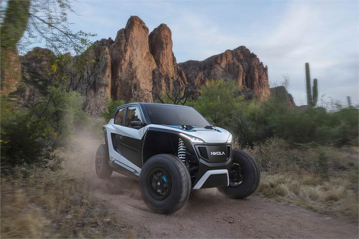 Like the Reckless, the NZT Off-Highway Vehicle (OHV) comes standard with 4 independent motors, one at each wheel.
