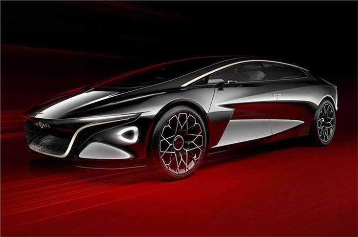 Lagonda saloon, 2021; Lagonda badge will be revived for an electric saloon to rival the Rolls-Royce Phantom
