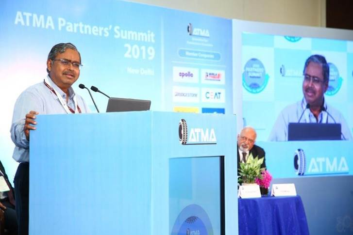 N. Sivasailam, IAS (Special Secretary (Logistics) Ministry of Commerce & Industry, Government of India), at the ATMA Partners Summit 2019