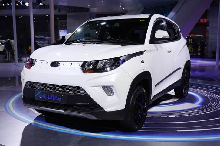 The eXUV300 is the electric version of the popular compact SUV, which has sold over 40,000 units in just 11 months.