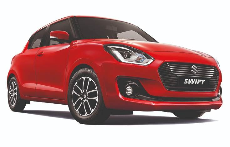 Current third-generation Swift was launched at the Auto Expo 2018 and has now democratised safety features such as dual airbags, ABS and EBD across all trims right from the entry-level LXi variant.