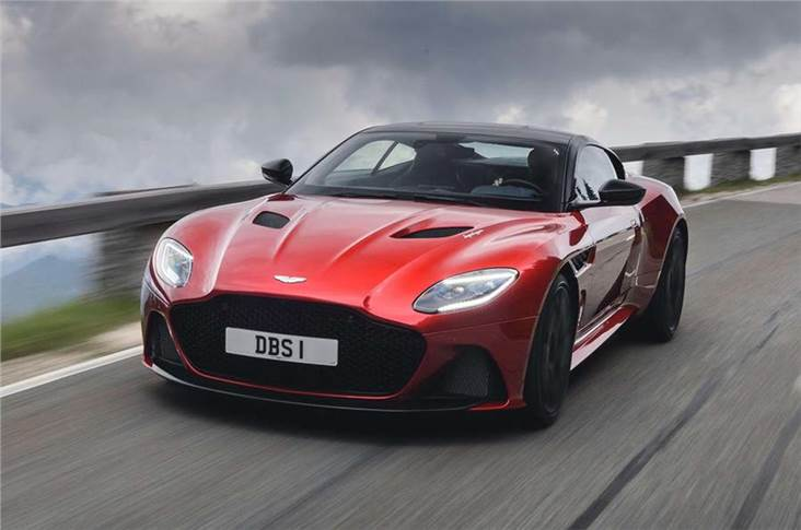 DBS Superleggera, 2018; Latest Aston Martin is a full-blown front-engined supercar rival to the Ferrari 812 Superfast