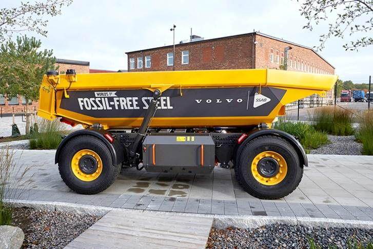 The load carrier, to be used in mining and quarrying, was unveiled at a green steel collaboration event today in Gothenburg