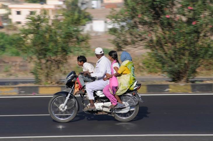 Non-usage of life-saving helmets by two-wheeler riders caused around 43,614 deaths last year.