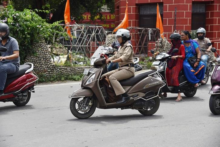The scooter, in the Indian context, gave women the much needed, affordable commute option.