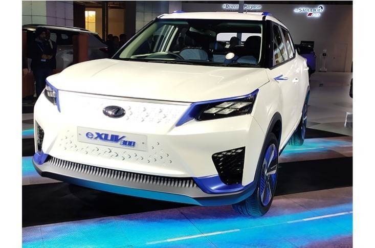 The Mahindra eXUV300, The Tivoli electric's sub-four-metre cousin, will be the first model in India to be built on the MESMA platform.