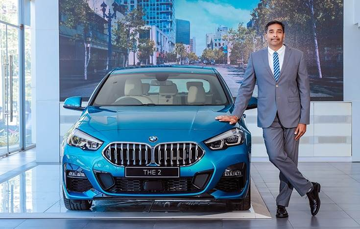 """Sabu Johny, Dealer Principal, EVM Autokraft: """"We are delighted to represent BMW and BMW Motorrad by setting up the largest BMW Facility NEXT in Thiruvananthapuram."""""""