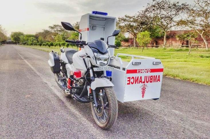 Hero MotoCorp has announced it will donate 60 first-responder mobile ambulances to the authorities.