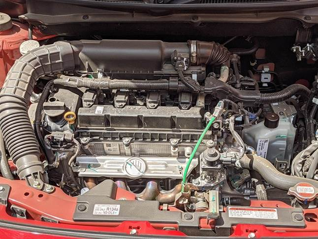 New 1.2-litre DualJet motor operates two injectors per cylinder to offer 8% power increment to 90bhp. Idle start-stop system standard to aid fuel efficiency.