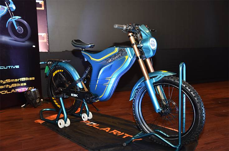 Polarity Executive series electric two-wheeler