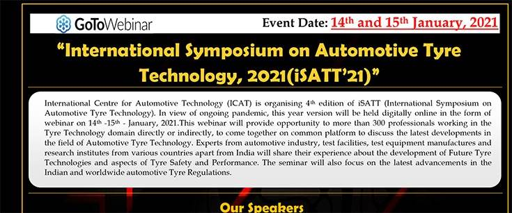 Experts deliberated on 'New Policies of Tyre Trade under the vision of Atmanirbhar Bharat' on day two of the Symposium.