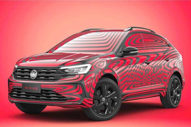 Volkswagen Nivus coupe-SUV is to be launched in Brazil next month.