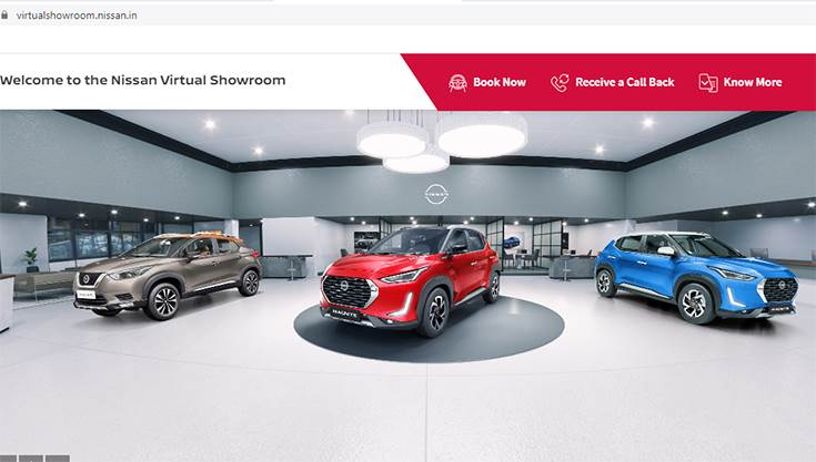 Nissan India has an end-to-end e-commerce facility from booking through to delivery including finance processing.
