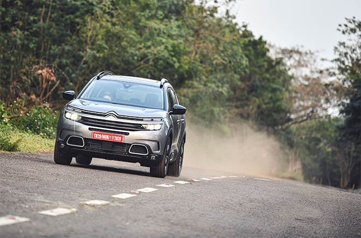 In India, the C5 Aircross rivals the likes of the Volkswagen Tiguan Allspace, Jeep Compass and Hyundai Tucson.