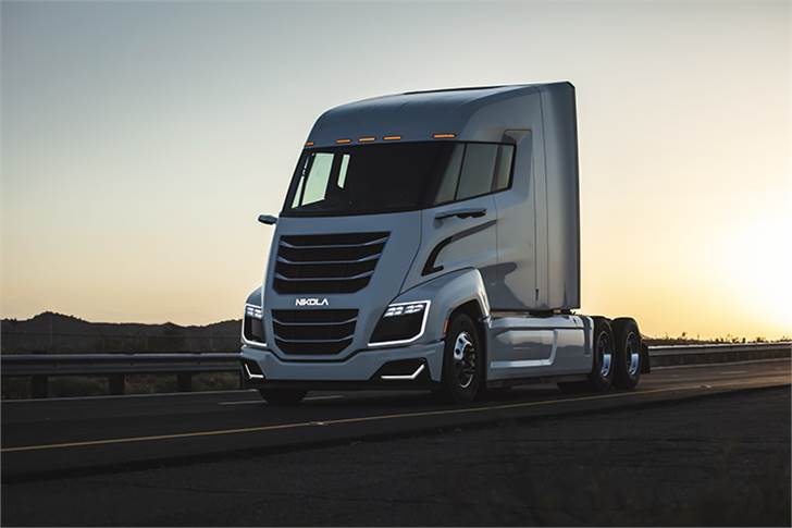 Bosch technology and expertise helped Nikola to realise the fully functional Nikola Two hydrogen-electric truck with industry-ready heavy-duty truck components and systems.