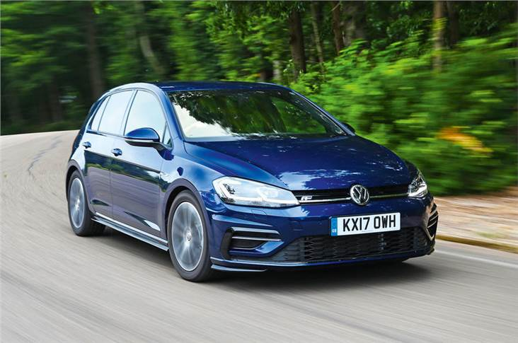 Registrations of the Golf fell sharply due to the impact of WLTP testing