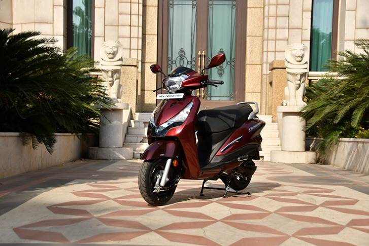 The Destini 126, Hero MotoCorp