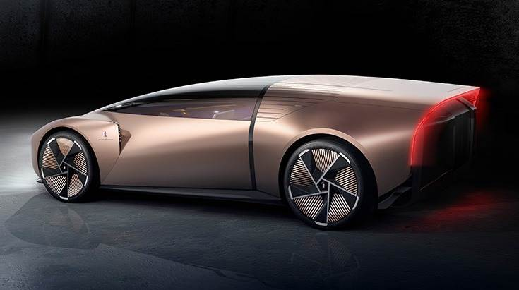 Virtually designed Teorema concept car is Pininfarina's vision for a shared, hyper connected mobility of the future.