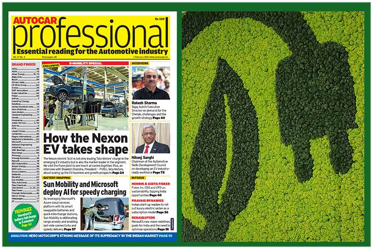 Autocar Professional'sFebruary 1 issue is all about electric mobility
