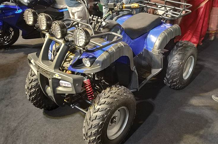 Evolet Warrior, an electric quad bike