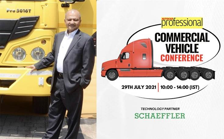 """Vinod Aggarwal, MD & CEO, VECV: """"I expect the CV industry to perform much better going forward. Need for replacement has led to higher demand. This is a big opportunity for the Indian CV industry. Road infrastructure will play a key role in overall logistics growth."""""""