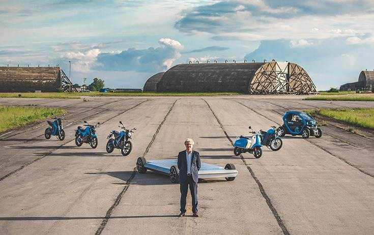 """Wicher Kist, CEO, Saietta Group: """"We are aiming to capture a material proportion of the rapidly expanding electric motorbike market."""""""