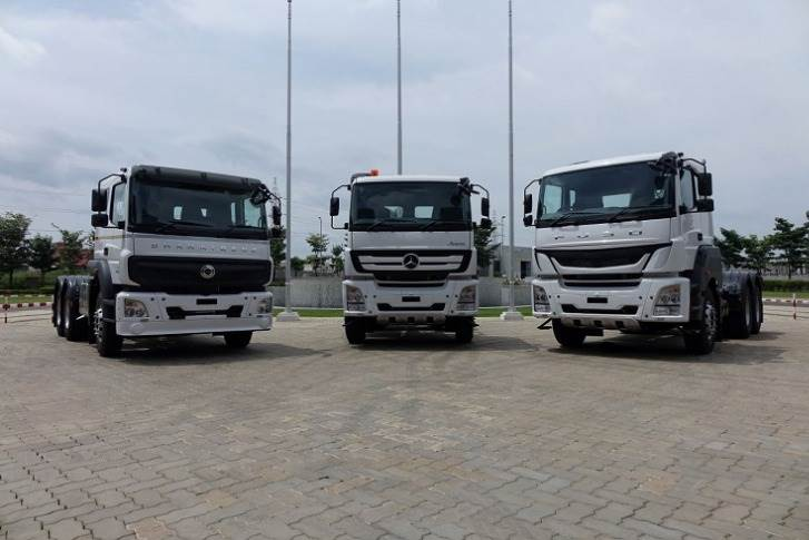 Daimler India Commercial Vehicles produces BharatBenz, Mercedes-Benz and Fuso Trucks at its manufacturing plant at Oragadam, Tamil Nadu.