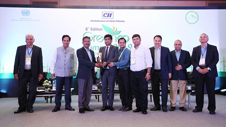 The Sanand plant has bagged the Confederation of Indian Industry