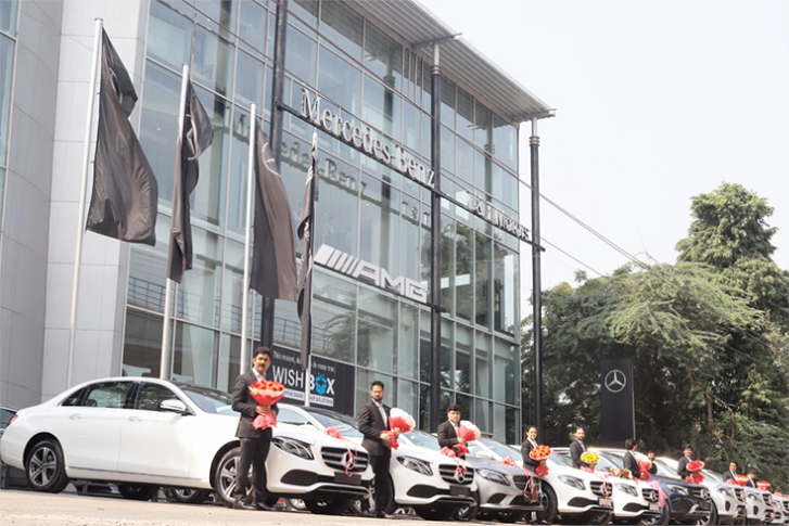 Over 250 cars were delivered to customers on Dhanteras (October 25) in the prime luxury car market of Delhi-NCR.
