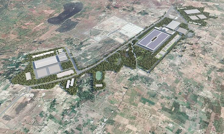 Ola's 'Future Factory', located on a humungous 500-acre site that equals 378 football fields or 25 Delhi T3 airport terminals, billed to be the most advanced two-wheeler plant in the world.