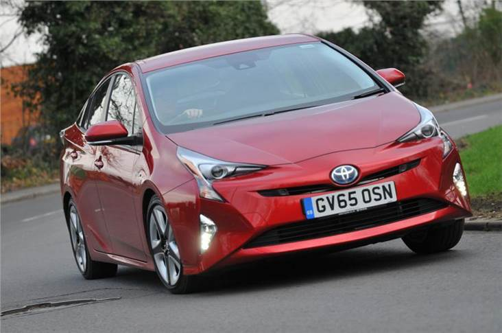 The new laws encourage Madrid residents to consider hybrid cars like the Toyota Prius
