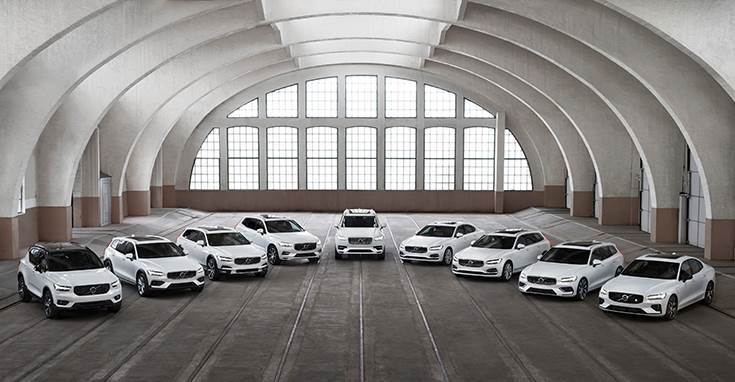 The share of Volvo Cars' Recharge line-up doubled in the first four months, from seven percent to 14 percent, year on year.