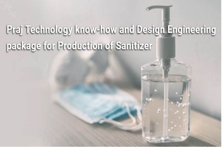 Sanitisers can be produced from value added processing of alcohol made in distilleries and bottling plants.