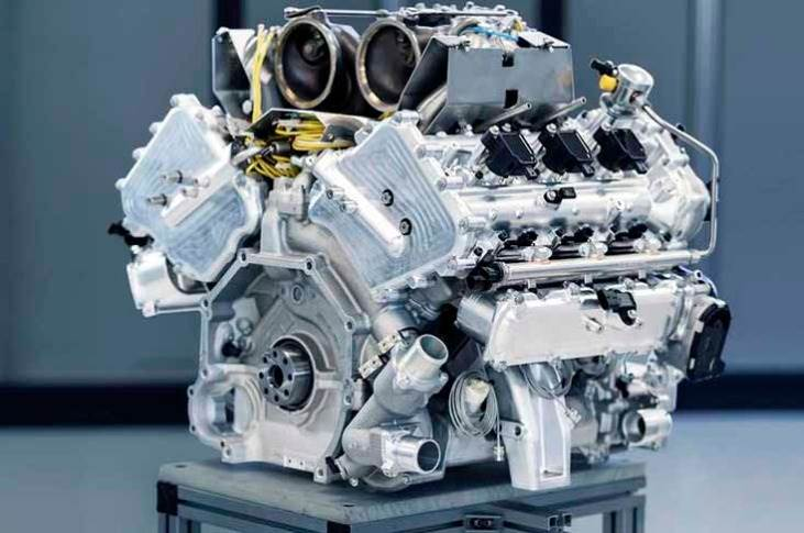 """The turbocharged 3.0-litre V6, the brand's first all-in-house engine since 1968, will be mated to a """"new range of hybrid systems"""" being developed alongside it, including both straight hybrid and plug-in hybrid applications."""