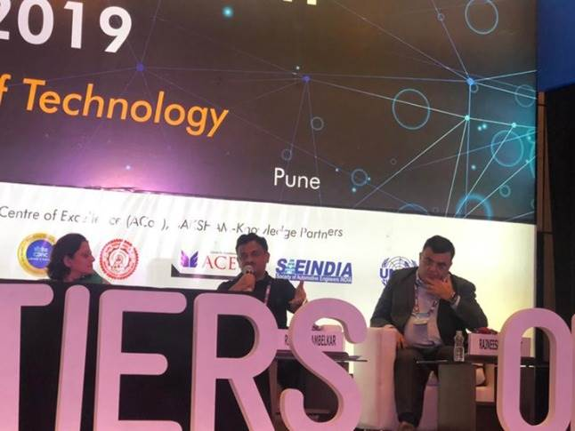 """Rahul Karambelkar, VP, Materials, Bajaj Auto: """"Technological upgradations are expected and the industry needs to work together to embrace this change. The automation of the engineering, connectivity of workstations will require a new set of thinking and skills."""""""