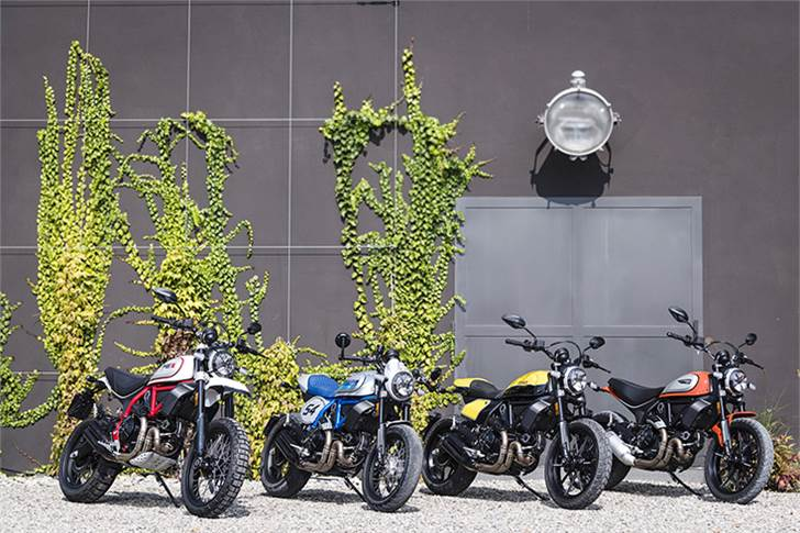 On April 26, Ducati launched the updated Scrambler 800 range in India: Scrambler Icon (Rs 789,000), Desert Sled (Rs 993,000), Cafe Racer (Rs 978,000) and the Full Throttle (Rs 892,000)