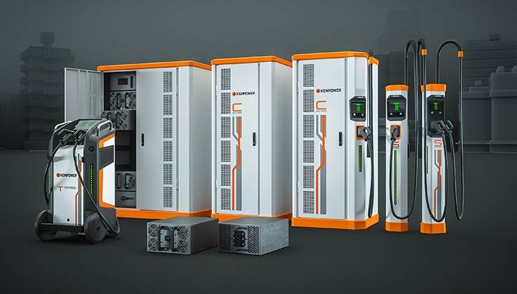 Kempower has three EV charging solutions: T-series movable DC, C-series EV charging station and S-series charging system.