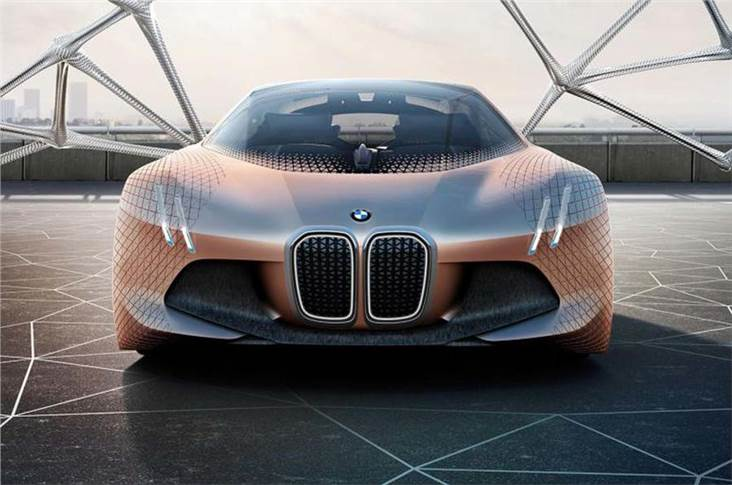 BMW's Vision Next 100 explores the future of mobility