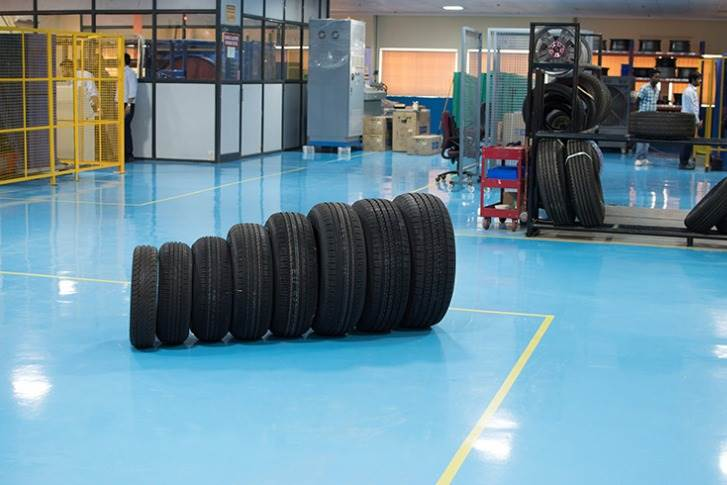 Endurance and rolling resistance tests can be performed inside the NABL-accredited lab. They measure the impact of a tyre's resistance on a vehicle's fuel consumption.